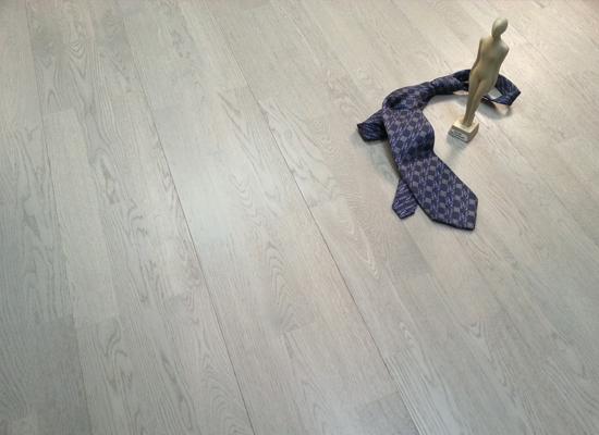Parquet rovere spazzolato grey