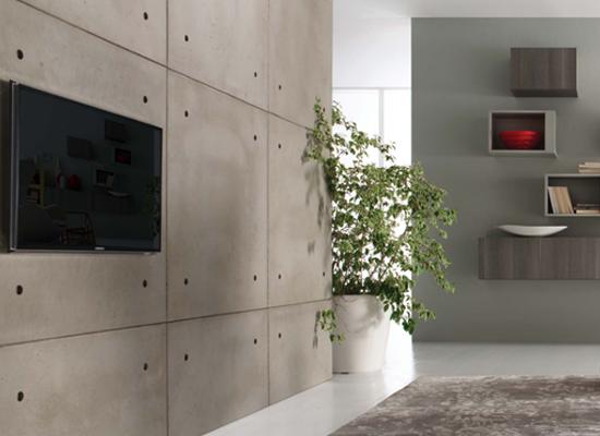 Cemento effetto legno per pavimenti in vendita - Parquet Selection ...