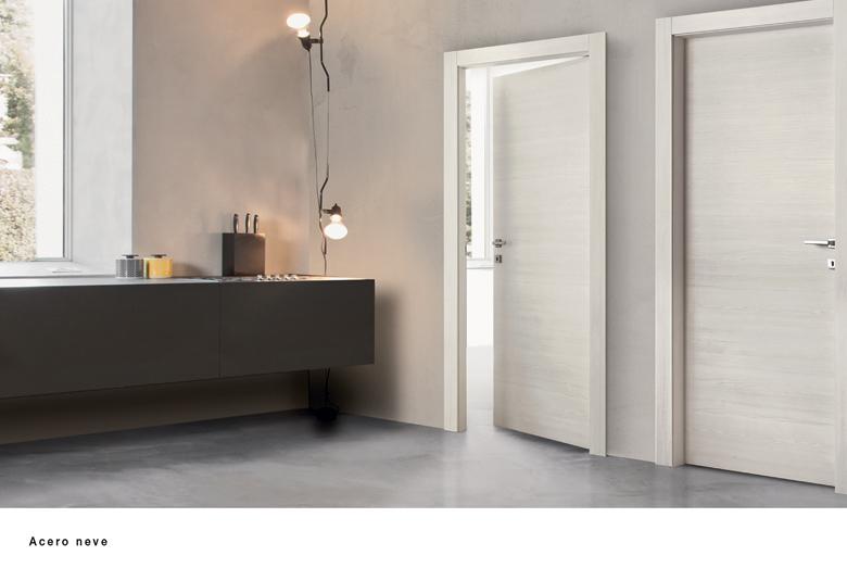 Porte da interni laminate milano collezione plana pi for Ermetika porte blindate